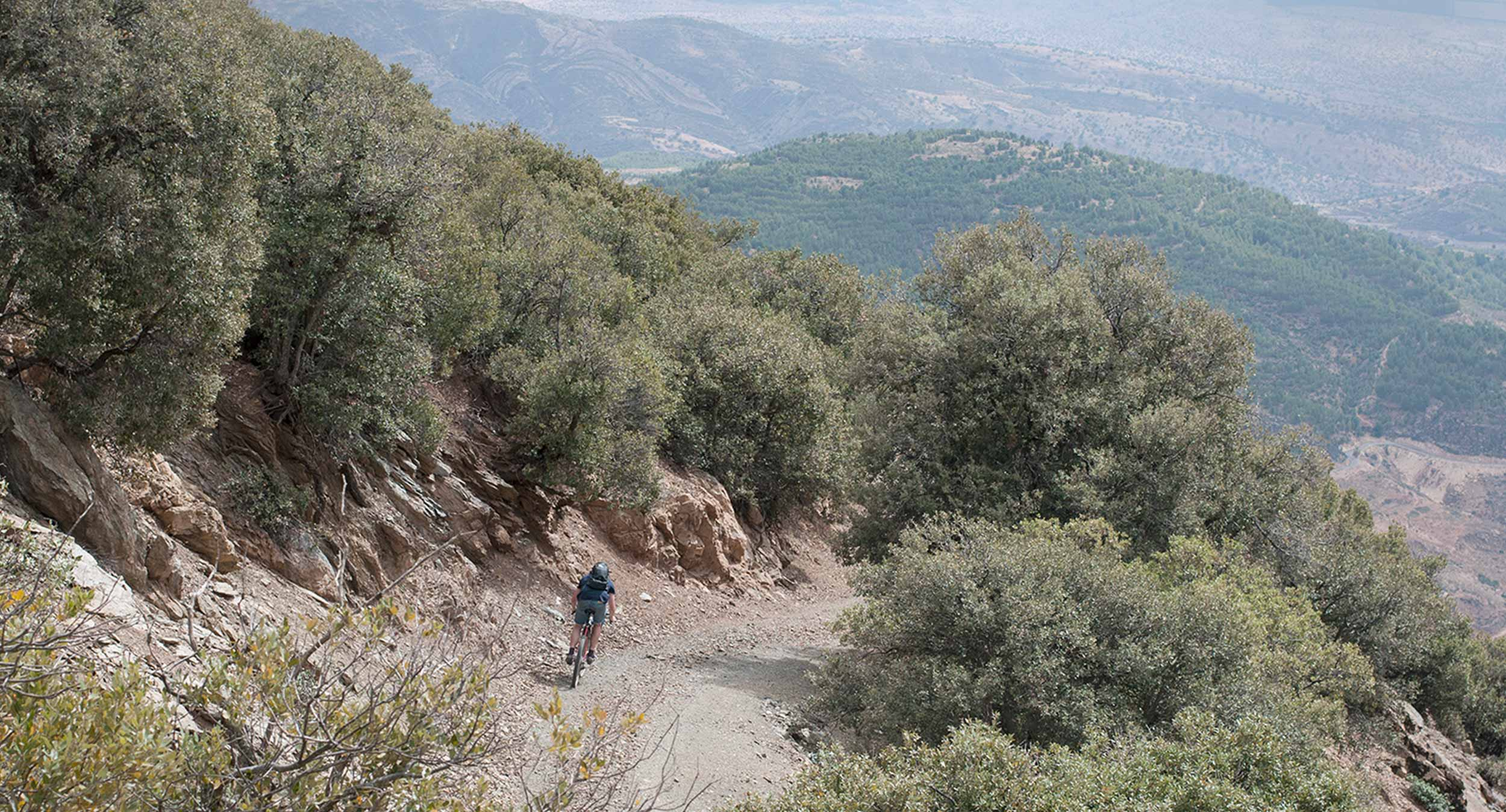 Stayer cycles Atlas Mountains adventure