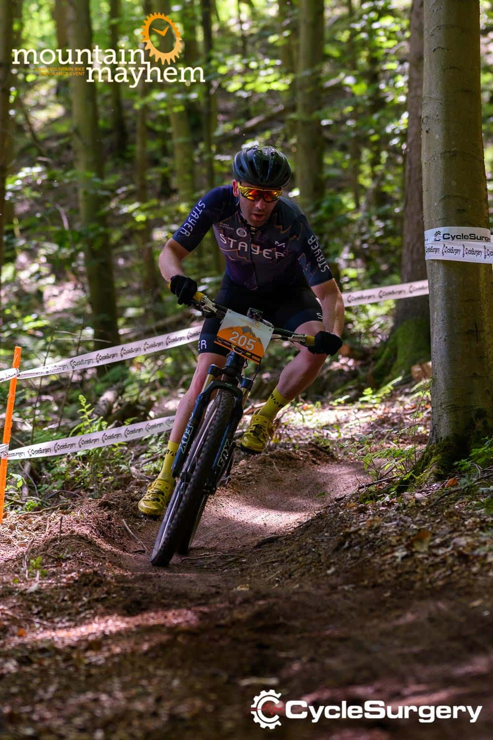 Stayer cycles Mountain Mayhem