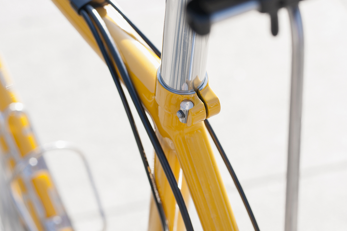 Stayer cycles Robin's Stainless Steel Big Yellow Tourer